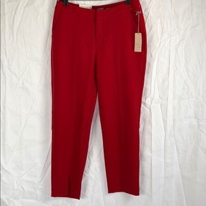 NWT A New day red slim ankle pants